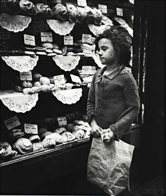 A child stares into a Whitechapel bakery window, 1935 When Edith Tudor-Hart wasn't working as a Soviet agent, she was taking lovingly realistic portraits of London's workers and street children.