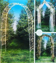 Lighted Wedding Arch - Knot and Nest Designs Indoor Wedding, Diy Wedding, Wedding Events, Wedding Ideas, Wedding Arch Tulle, Wedding Columns, Wedding Stuff, Wedding Chuppah, Cake Wedding
