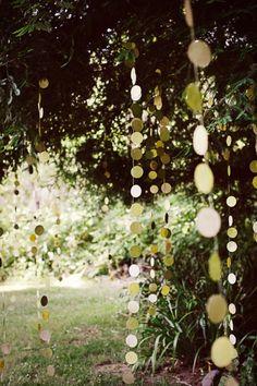 adornos boda bosque
