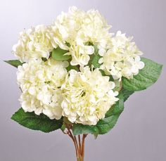 "HYDRANGEA BUSH X5 19"" - CHOOSE FROM 5 COLORS"