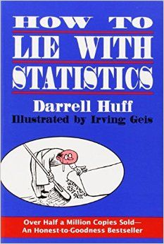We're constantly being bombarded with facts, statistics, and graphs on news sites, blogs, and social media. How can we be a more skeptical thinker in the face of all this information? This book is a great layman's guide on how to think critically about these facts and statistics you come across on a daily basis – including helpful examples of how they are often manipulated by the media, politicians, and bloggers to prove things that aren't necessarily true. I originally discovered this book…