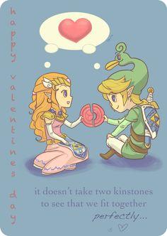 zelda valentines day ideas