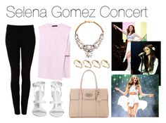 """Selena Gomez Concert"" by anabelacsilva ❤ liked on Polyvore featuring DKNY, Alexander Wang, SHOUROUK, ASOS, Mulberry, women's clothing, women, female, woman and misses"