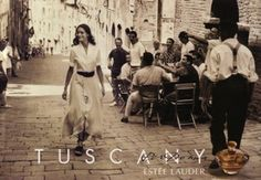 Still love this ad from the early 1990's - Tuscany Per Donna by Estee Lauder