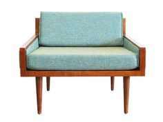Mid Century Modern Arm Chair Executive Chair by GoModRetro on Etsy, $575.00