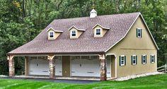 2-door-garage-raised-roof-double-wide-with-dormers-cupola-and-weathervane-40x40-gallery-image.jpg 1,600×859 pixels
