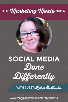 SOCIAL MEDIA || Does social media make you want to tear your hair out? Or do you feel like it's cold and pointless? You're going to love what my guest on the Marketing Moxie Podcast  @moonshinelara has to say about making social media human. Lara puts the heart back in social and puts marketing for your small business in perspective.