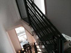 RSG4400 handrails and staircases fitted in a new build apartment in Fulham.