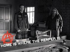 No matter where you go... Home is where the reaper is. #SOAFX