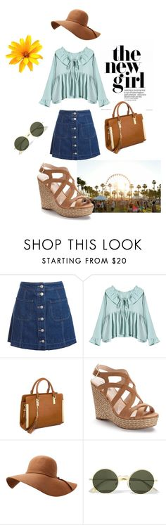 """Summer Festival Fashion"" by melaniecox2222 on Polyvore featuring Sans Souci, Jennifer Lopez and Le Specs"
