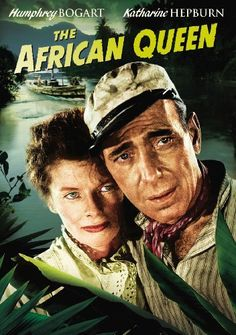 Availability: http://130.157.138.11/record=b3784492~S13 The African Queen DVD / Katharine Hepburn, Humphrey Bogart  ; adapted for the screen by James Agee & John Huston ; directed by John Huston. Based on the novel by C.S. Forester.