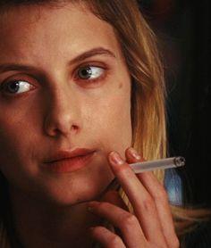 Mélanie Laurent in Inglourious Basterds Melanie Laurent, Tarantino Films, Quentin Tarantino, Women Smoking, Girl Smoking, Stanley Kubrick, Only Melanie, Inglorious Bastards, Color In Film