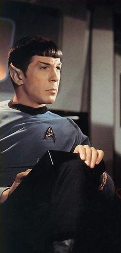 Spock ~ Leonard Nimoy. Star Trek TOS