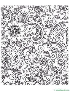 Dibujos antiestrés | Dibujos para imprimir - Web del maestro
