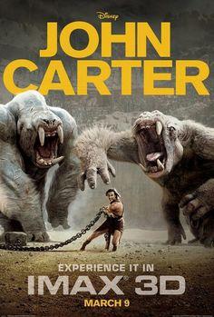 TÍTULO ORIGINAL: John Carter (John Carter of Mars) OTRO TITULO John Carter: Entre Dos Mundos AÑO: 2012 PAÍS: Estados Unidos GÉNERO: Ciencia ficción. Fantástico. Aventuras | Extraterrestres. Siglo XIX