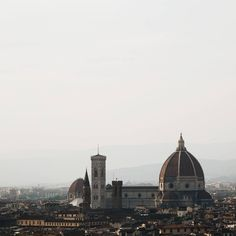 #Duomo from Michelangelo. #Florence.  The conventional snapshot has its charm. Happy weekending- climb something.
