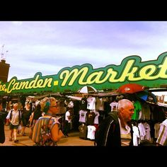 One of my favourite places. So many mixed up weird and wonderful things are found here! The Camden Markets
