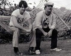 Dan Aykroyd and John Belushi | Rare and beautiful celebrity photos