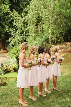 pink bridesmaid dresses, bridesmaid dress, bridesmaid, wedding, gown, fashion