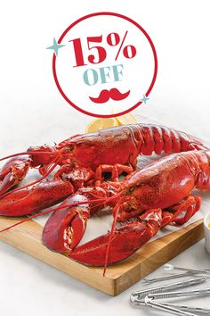Only the best for dad! From now until Sunday, save 15% off site-wide with promo code DAD15. 🦞🏆 n#LobsterGram #FathersDay Lobster Gram, Lobster Pot Pies, Lobster Party, Steak And Lobster, Live Lobster, Frozen Lobster, Fresh Lobster, Shrimp Cocktail Sauce, Maryland Style Crab Cakes