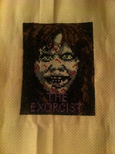 the exorcist xstitch