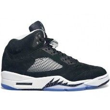 fdcfbc6a6b74ed This is the Air Jordan 5 Retro Oreo GS Grade School has a black suede upper  with white midsole and inner lining