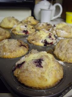 life with jack: Huckleberry Heaven Huckleberry muffin recipe-can be used with blueberries