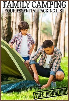 Family Camping - Large Family Tents and Other Essential Gear For For Family Camping *** Read more at the image link. #KidsCampingGear