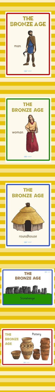 KS2 Bronze Age- Bronze Age Display Posters