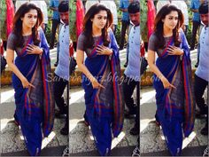 nayanthara saree blouse - Google Search