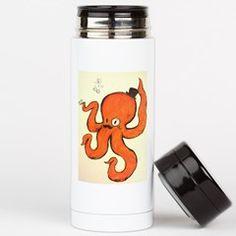 Sir Octopus Tea Tumbler