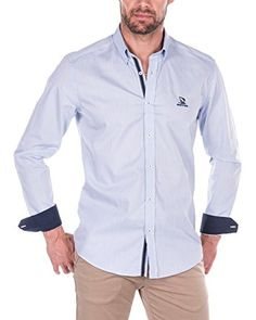 Giorgio Di Mare Camicia Uomo ZZZ  [Blu Chiaro]