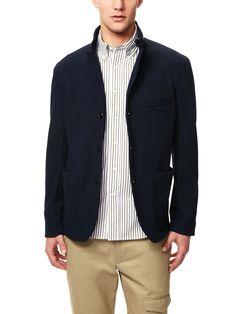 slightly more fashion-forward jacket
