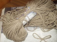 Natural 100 Linen Cord Piping Ecru Gray by VilendaLinen on Etsy, $1.80