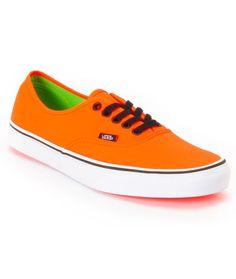 736ce4f8ba Vans Girls Authentic Lo Pro Hot Coral   True White Shoe. i. want ...