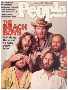 The Beach Boys on People Magazine - August, 23 1976