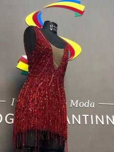 Vestido bordado luneville by Rogério Santinni