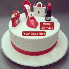 Fashion Birthday Cake Girlfriend Name Wishes Pictures Online Sister Stylish Image Wife Special Pix
