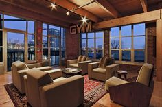 Live in a warehouse loft.  This particular one is located at the Buggyworks in Columbus, Ohio.