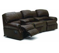 41104 Charleston Theater Sectional | Palliser Furniture
