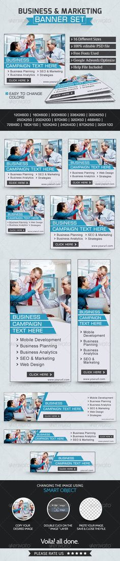 Business & Marketing Web Banners Template PSD | Buy and Download: http://graphicriver.net/item/business-marketing-banners/7648496?WT.ac=category_thumb&WT.z_author=doto&ref=ksioks