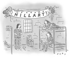 """""""What? She's not coming?"""" The New Yorker"""