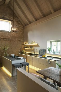 The 'Limehouse' kitchen from Neptune