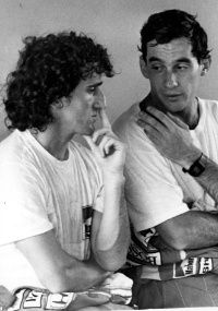 Alain Prost & Ayrton Senna https://www.facebook.com/pages/Ayrton-Senna-Tribute-2014/674310202636141
