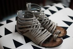 summer sandals. Love.