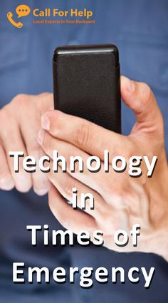 Technology in Times of Emergency:  Emergency situations are moments where there is no room for panic and fear. These are times where you will need to be prepared and composed, so that you can be able to respond well to the current circumstance that is in front of you.