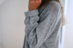 Cozy sweatshirts.