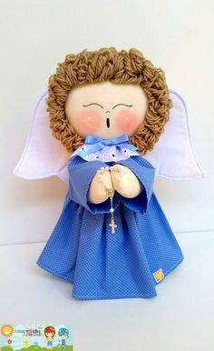 Rosemary Penha de Souza's 749 media content and analytics - Her Crochet Baby Shawer, Angel Crafts, Clay Figures, Fairy Dolls, Felt Toys, Gum Paste, Communion, Puppets, Teddy Bear