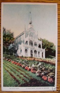 931 SCALA SANTA, ST ANNE DE BEAUPRE, QUEBEC CANADA--we prayed here on our honeymoon
