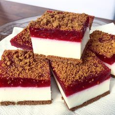 Cheesecake Recipes, Dessert Recipes, Sweets Cake, Best Food Ever, Polish Recipes, Homemade Cakes, Healthy Desserts, Love Food, Food To Make